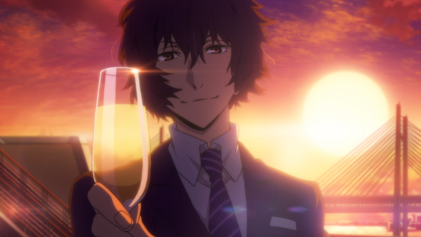 bungou stray dogs season 3 episode 12 review screencap Dazai