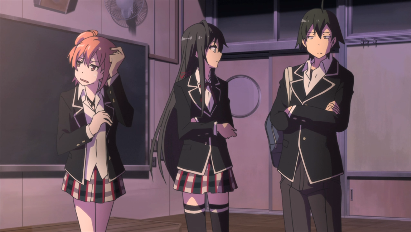 oregairu review my youth romantic comedy is wrong as expected