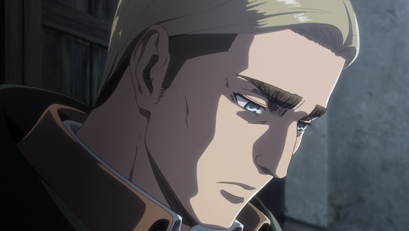attack on titan season 3 part 2 Erwin
