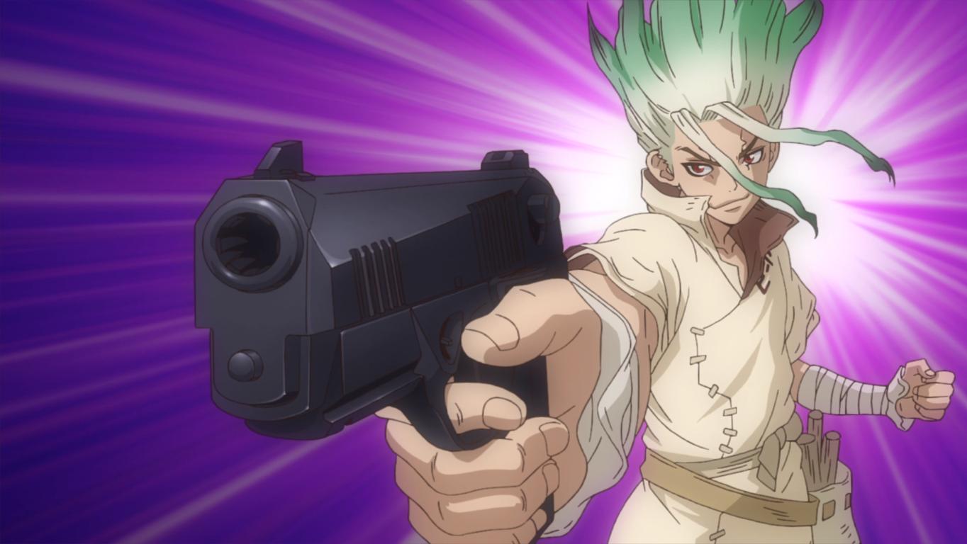 Dr. Stone Senku gun
