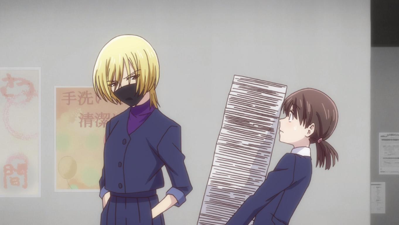 Uo-chan and Tooru Fruits Basket episode 16