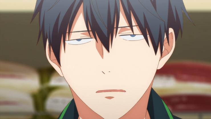 given Ristuka anime reaction image