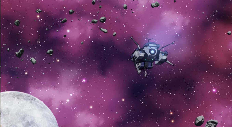 kanata no astra episode 3 space