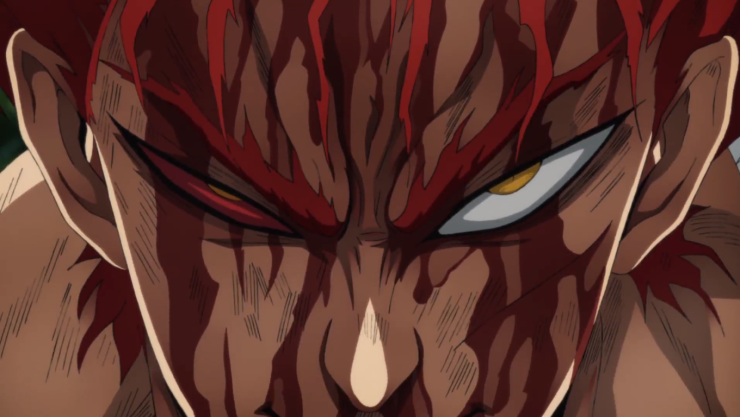 one punch man 2nd season episode 12 review garou
