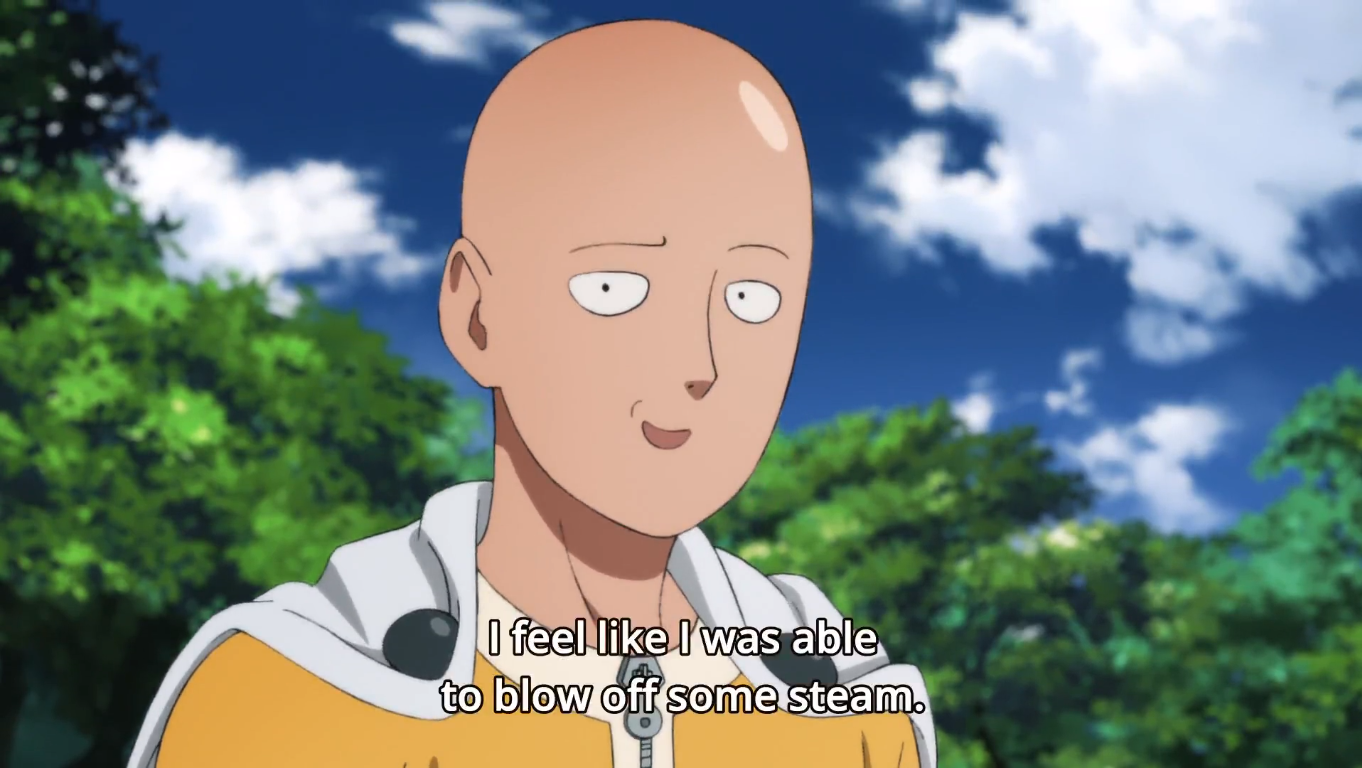 one punch man 2nd season episode 12 review saitama