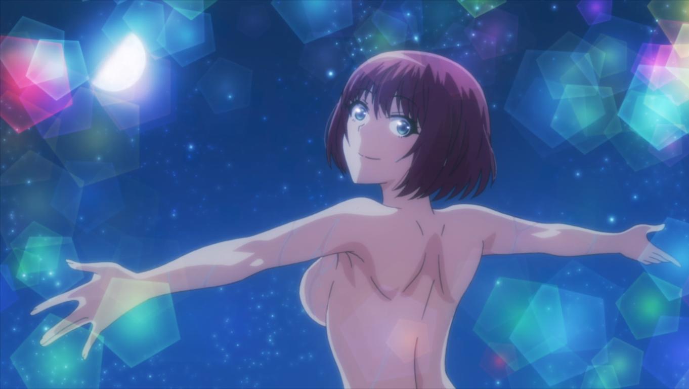 are you lost? sounan desu ka? episode 8. anime nudity. naked mutsu.